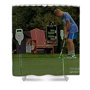 Golf Art 3 Shower Curtain