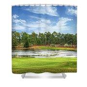 Golf At Pinehurst  Shower Curtain