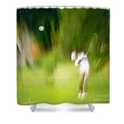 Golf At The Blue Monster In Doral Florida 01 Shower Curtain