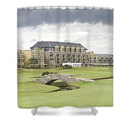 Golf Hotel, St Andrews Shower Curtain