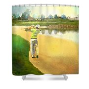 Golf In Club Fontana Austria 02 Shower Curtain