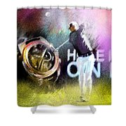 Golf In Crans Sur Sierre Switzerland 03 Shower Curtain