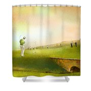 Golf In Scotland Saint Andrews 02 Shower Curtain