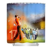 Golf Madrid Masters 01 Shower Curtain
