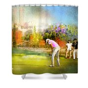 Golf Madrid Masters  02 Shower Curtain