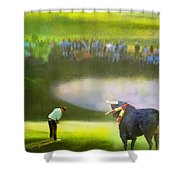 Golf Madrid Masters 03 Shower Curtain