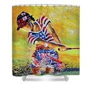 Golf Sandsation Shower Curtain