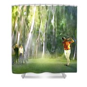 Golf Trophee Hassan II In Royal Golf Dar Es Salam Morocco 01 Shower Curtain