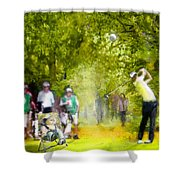 Golf Trophee Hassan II In Royal Golf Dar Es Salam Morocco 03 Shower Curtain
