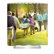 Golf Vivendi Trophy In France 04 Shower Curtain