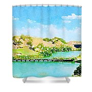 Golfers Delight Shower Curtain