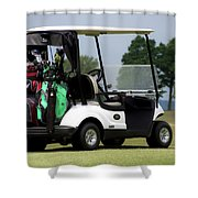 Golfing Golf Cart 05 Shower Curtain