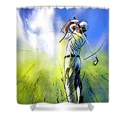 Golfscape 01 Shower Curtain