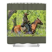 Goliad 2 Shower Curtain