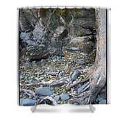 Gollum's Cave Shower Curtain
