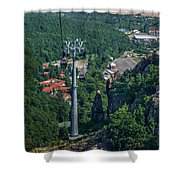 Gondola Hexentanzplatz Shower Curtain