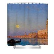Gondola On St. Mark's Basin. Venice Shower Curtain
