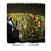Gondola Under A Bridge Shower Curtain