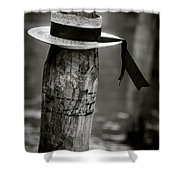 Gondolier Hat Shower Curtain