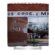 Gone Grocery 4 #vanishingtexas Street Scene Rosebud Texas Shower Curtain