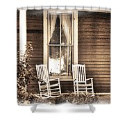 Gone Shower Curtain by Julie Palencia