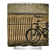 Gone Swimming Shower Curtain