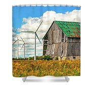 Gone With The Wind 3 Shower Curtain