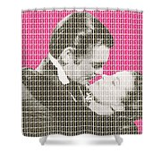 Gone With The Wind - Pink Shower Curtain