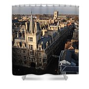 Gonville And Caius College Shower Curtain