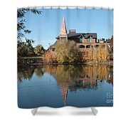 Gonzaga Art Building Shower Curtain