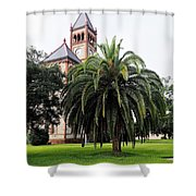 Gonzales County Court House Shower Curtain