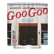 Goo Goo Shop- Photography By Linda Woods Shower Curtain