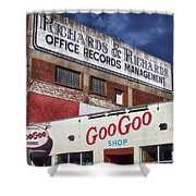 Goo Goo Shop Shower Curtain