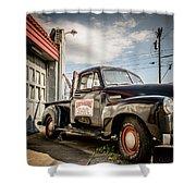 Goober's Tow Truck Shower Curtain