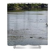 Good Day To Fish Shower Curtain