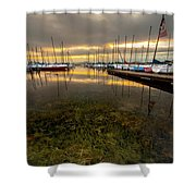 Good Day To Sail Shower Curtain