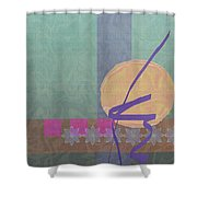 Good Fortune Shower Curtain