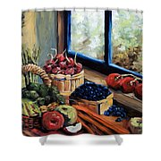 Good Harvest Shower Curtain