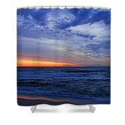 Good Morning - Jersey Shore Shower Curtain