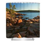 Good Morning Acadia Shower Curtain