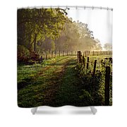 Good Morning Cades Cove II Shower Curtain