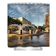 Good Morning Charleston Shower Curtain