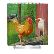 Good Morning  Dudley Shower Curtain