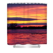 Good Morning Geese Shower Curtain