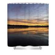 Good Morning Lake Springfield Shower Curtain