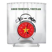 Good Morning, Vietnam - Alternative Movie Poster Shower Curtain
