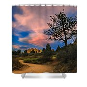 Good Night God's Garden 2 Shower Curtain