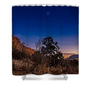 Good Night God's Garden 3 Shower Curtain