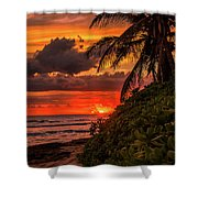 Good Night Hawaii Shower Curtain