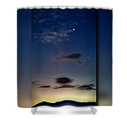 Shades Of Dawn Shower Curtain